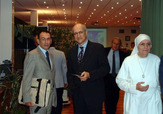 Angelo Rossi, Giuseppe Gizzi, Luciano Pellegrini, Suor Margherita