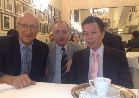 Giuseppe Gizzi, Livio Cipolletta, Hiroshi kashida