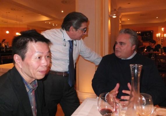 Hiroshi Kashida, Carmelo Scarpignato, Lucio Petruzziello
