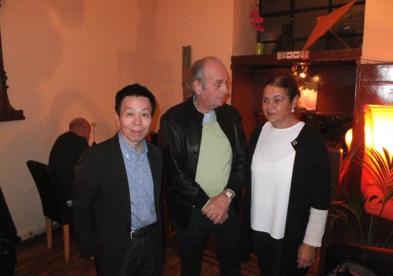 Hiroshi Kashida, Pietro Ricci, Franca Ricci