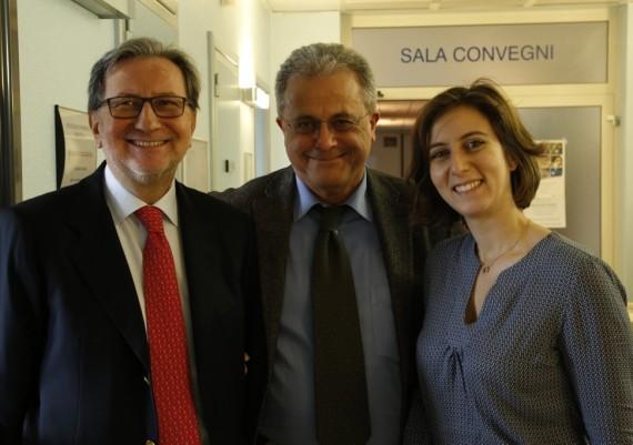 Dino Vaira, Emilio Brocchi, Giulia Fiorini