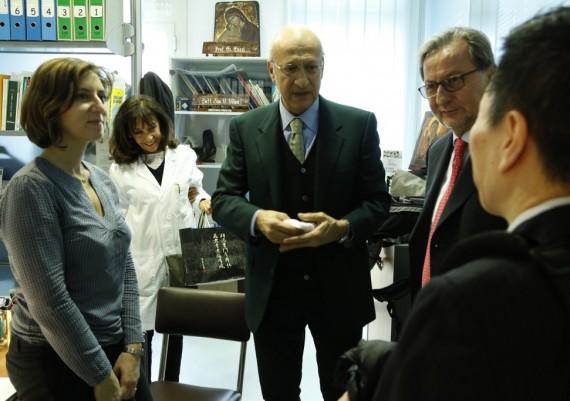 Giulia Fiorini,Valeria Villani, Giuseppe Gizzi, Dino Vaira, Hiroshi Kashida