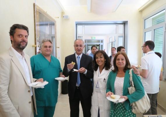 Federico Iacopini, Lucio Petruzziello, Livio Cipolletta, Valeria Villani, Dott.ssa Natali